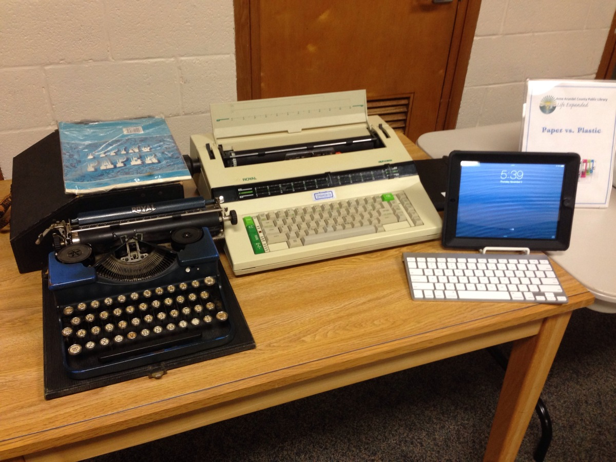 Technology In The Library Past And Present Highly